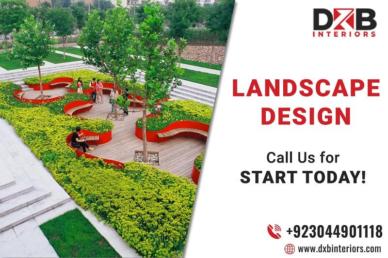 Best Landscape design services in Lahore | DXB Interiors